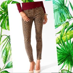 Leopard Printed Skinny Jean