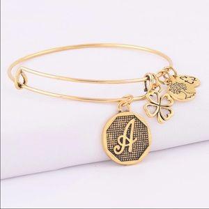 Alex And Ani Jewelry - INITIAL A CHARM BRACELET