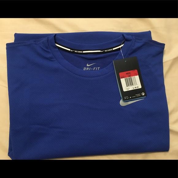 156797e7e Nike Shirts   Drifit Contour Short Sleeve Running Shirt   Poshmark