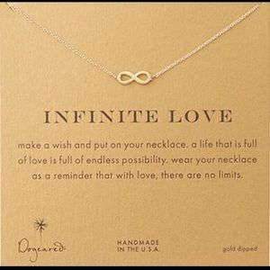 Dogeared Jewelry - INFINITE LOVE / INFINITY CARD NECKLACE