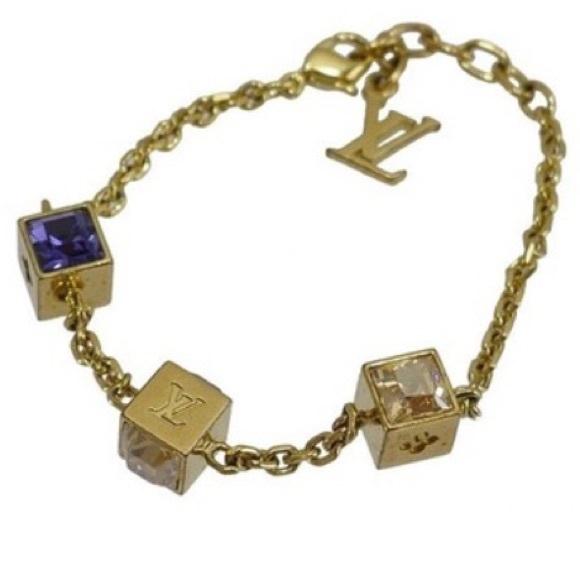 Louis vuitton swarovski gamble bracelet gold rhq gamble download