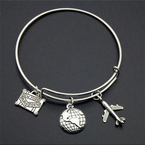 Alex And Ani Jewelry - WORLD CHARM BRACELET