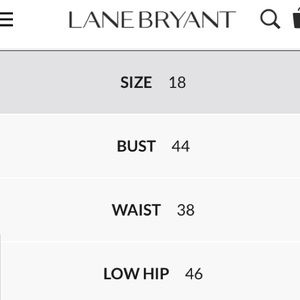 Lane Bryant Tops - Sexy Wrap Top with Chain Necklace Detail