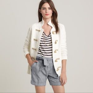 J. Crew Toggle Sweater