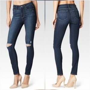 Paige Jeans Denim - Paige Hoxton Ankle High Rise Skinny Jeans