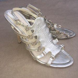 L.A.M.B straps sandals. 9M.