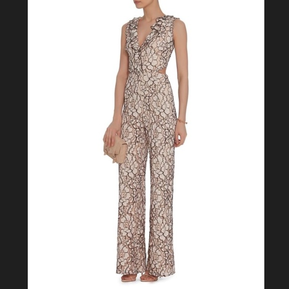 cac070ec74f Alexis Exclusive Elsa Lace Jumpsuit from Intermix