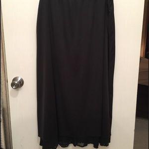 Dresses & Skirts - Brand New Long Black Skirt 3X