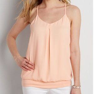 Maurices Tops - Maurice's Chiffon + lace top