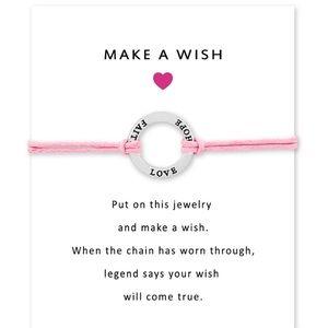 Faith Hope Love - Make a wish bracelet