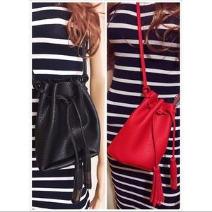 kate spade Handbags - ⭐️Stylish mini bucket bag - choose red or black