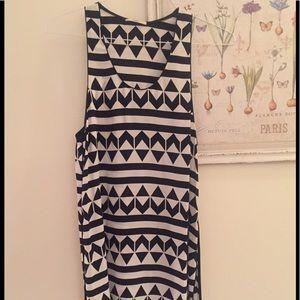 EDUN Tops - Edun pattern silk top