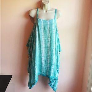 Tiare Hawaii Other - • Tiare Hawaii • Off the Shoulders Tie Dye Dress