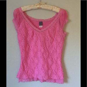 Hanky Panky Tops - 💖 Stretchy Pink Top
