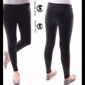 Michael Kors Pants - Michael Kors leggings charcoal dark NWT S/P