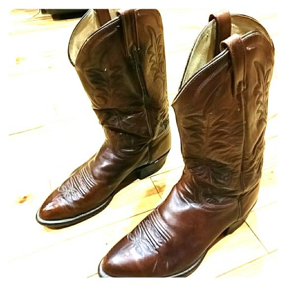 86 j chisholm cowboy western boots other vintage