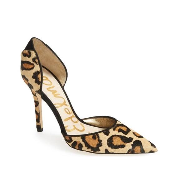dff563548a6295 Sam Edelman Delilah Leopard Heels. M 591e6d0e7fab3a005a017332