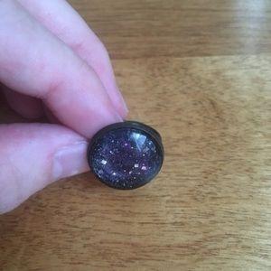 Etsy galaxy ring