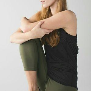 lululemon athletica Pants - Wunder Under Roll Down Crop, Green