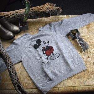 🆑Vintage 70s Disney casuals Mickey sweater.
