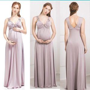 Nothing But Love Dresses & Skirts - Maternity Dress Giovanna Nursing Silky Empire