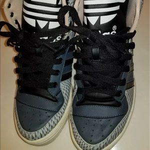Jeremy Scott Shoes - Jeremy Scott Big Tongue Adidas 6.5