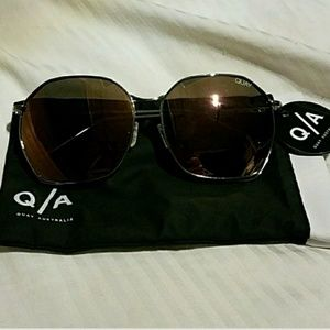 NEW♥Quay Australia Bae Mauve Morrored Sunglasses