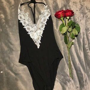 A3 Design Tops - Lace Body suit ❥