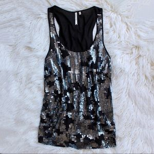 Petticoat Alley Sequin Top