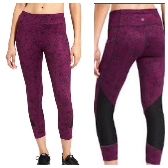 24c7ed062932a Athleta Pants | Floral Garden Relay 2 Tights | Poshmark