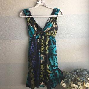 Velvet Torch Dresses & Skirts - VELVET TORCH deep V-neck dress