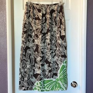 cynthia howie Dresses & Skirts - Cynthia howie butterfly maxi skirt