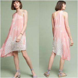 Anthropologie Avalonne Silk Dress by Maeve