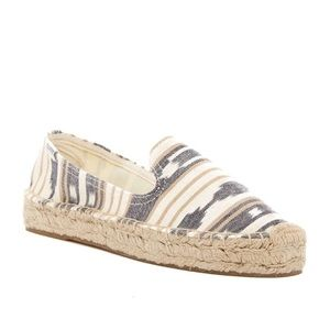 Soludos Shoes - Soludos geo print espadrille smoking slipper