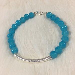 handmade Jewelry - Handmade Blue Stone Bracelet