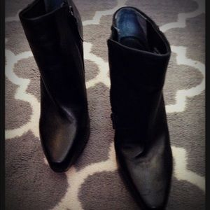 New Italian leather boots