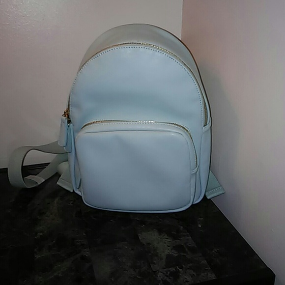 11f3319724 Forever 21 Handbags - Forever 21 Mint Green Faux leather mini backpack
