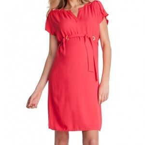Seraphine Other - NWT Seraphine maternity summer dress coral red