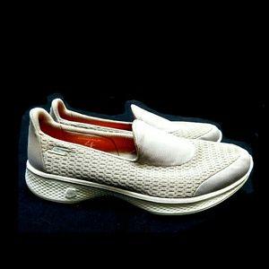 Skechers Shoes - 💕NEW💕SKECHERS GO WALK TAUPE WALKING SNEAKS