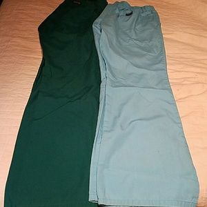 Pants - 👸👖👖🚑🏥 Lot of 2 scrub pants