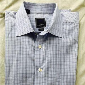 David Donahue Other - Men's David Donahue trim fit check dress shirt