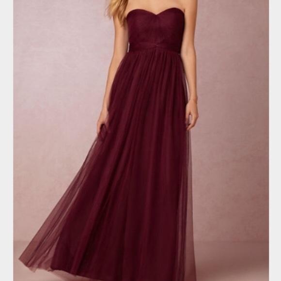 c8417419d8506 Jenny Yoo Dresses & Skirts - Jenny Yoo Annabelle Black Cherry Bridesmaid  BHLDN