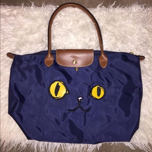 France Made Longchamp Le Pliage Tote Bag Long 👜 4fce622457766