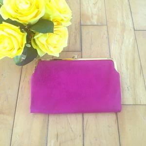 Handbags - Trendy Pink Clutch