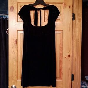 Free People Dresses & Skirts - Free People black velvet dress, large
