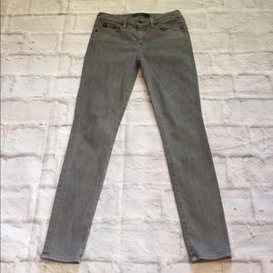 Big Star Denim - Big Star 1974 Gray Alex Skinny Jeans, size 27 P