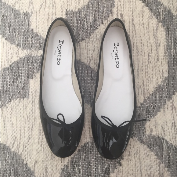74975105763 Repetto Cendrillon patent leather ballerina flats