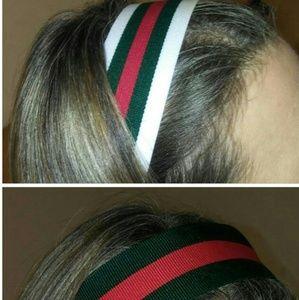 Gucci Accessories - Classic Gucci Style Wide Stripe Headband