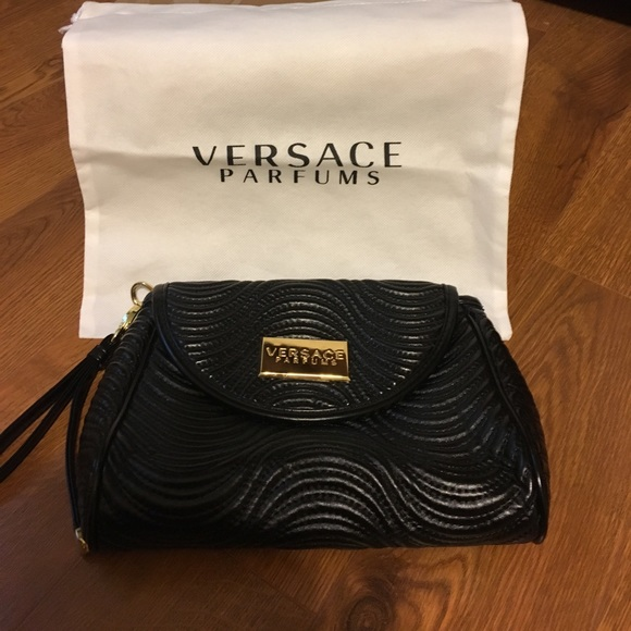 Authentic Versace Parfums Cosmetic Bag   Dust Bag.  M 591f03866a58302fe9004501 cb0b133c18389