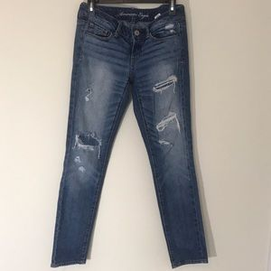 American Eagle Distressed Skinnies